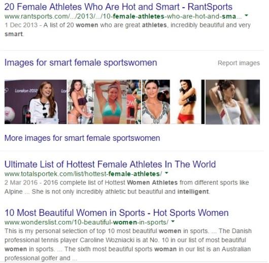 Smart Female Sportswomen